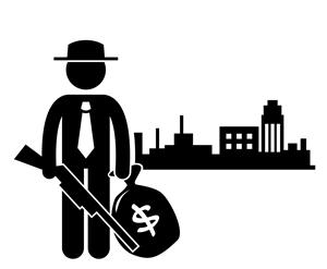 gangster shotgun city